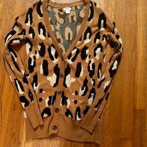 Leopard Mossimo Cardigan